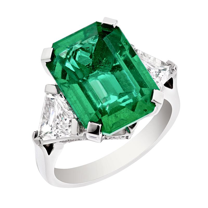 Fabergé-Emerald-Step-Cut-Ring
