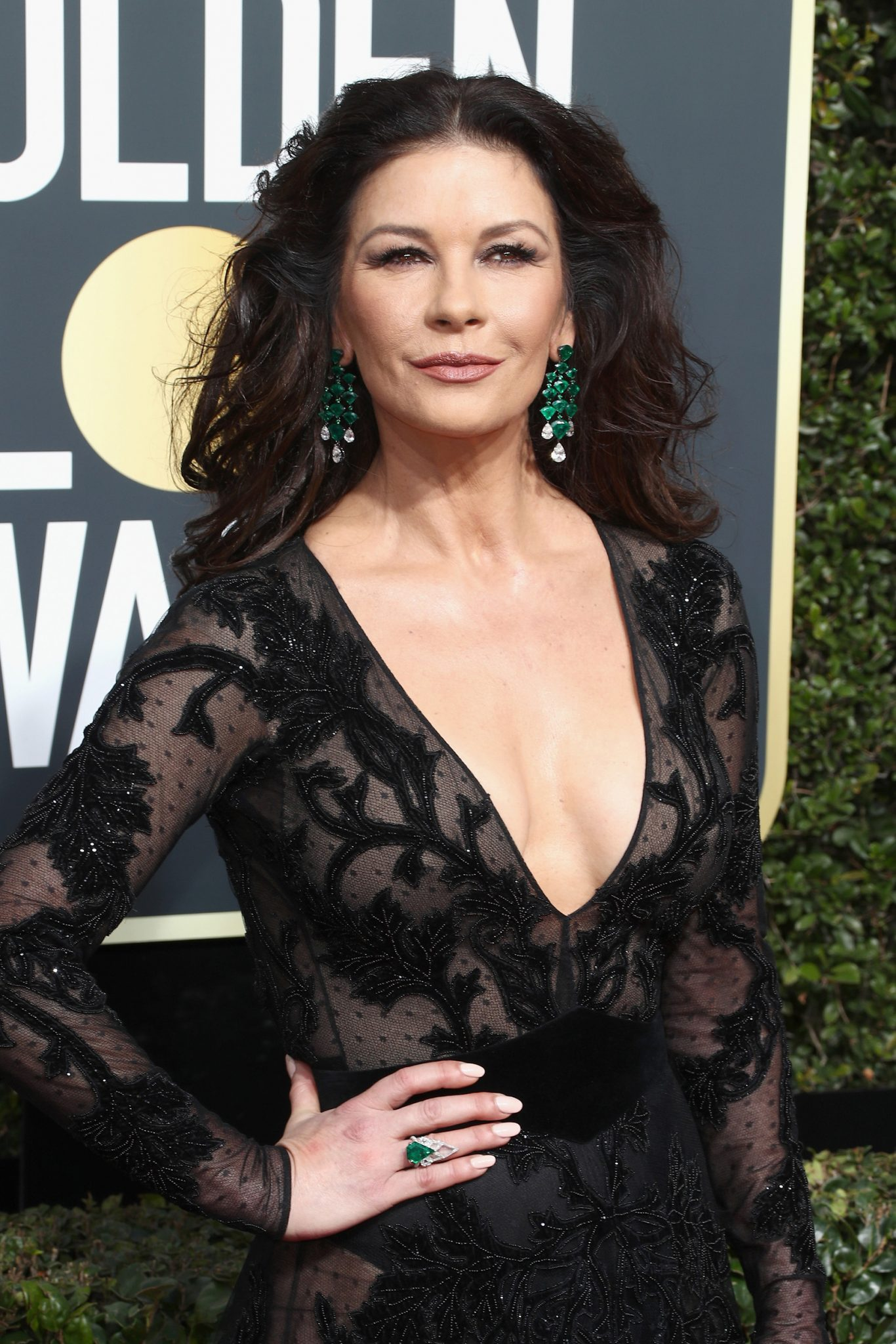 Catherine Zeta-Jones in Lorraine Schwartz